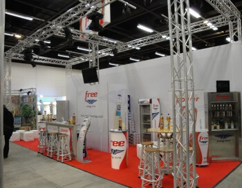 Produkt-Messestand Conception